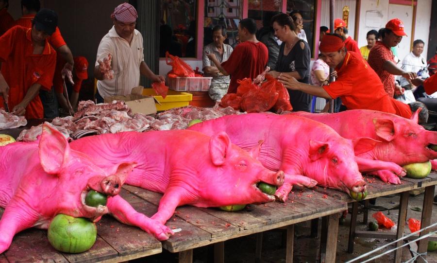 101 Gambar Babi Panggang Merah Paling Keren